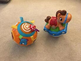 Vtech and leap frog toys