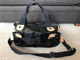Storksak baby changing bag, black