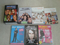 Comedy DVD's inc Bill Bailey Russell Brand Modern Family Scrubs etc (20 total)