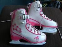 UK 11J CCM Girls Ice Skate Boots