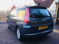 CITROEN GRAND C4 PICASSO 1.6 HDi 16v EXCLUSIVE EGS 5dr 7 SEATER AUTOMATIC MOT 2019