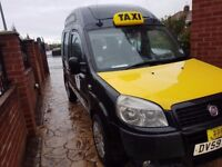 Ex taxi for sale fiat doblo wheelchair accessible 2009