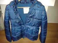 EDT ESPRIT padded thermal jacket with a fleece lining size L 14 yo boy