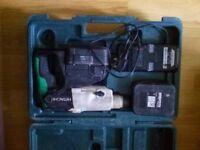 Hitachi 24V SDS drill