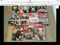 Q music magazines. Last 13 copies. Excellent condition.