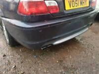 E46 m sport rear bumper