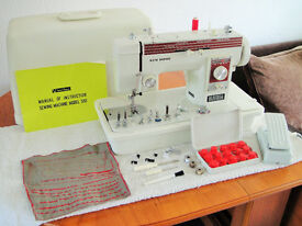 New Home Janome Semi Industrial Heavy Duty Sewing Machine - Excellent Condition SEWS LEATHER