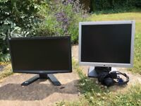 Two LCD monitors with VGA interface