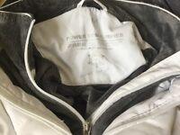 White Power Down Ski Jacket
