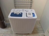 portable lightweight twin tub washing machine