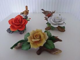 3 flower ornaments