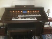 Yamaha AR 100 electric organ for collection from Kiveton near Worksop