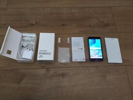 SAMSUNG GALAXY J3 - 8GB - FACTORY UNLOCKED TO ALL NETWORKS