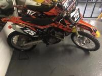 2013 ktm 250 sxf excellent condition throughout