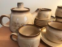 DENBY 'MEMORIES' VINTAGE TEASET - NEVER USED, IMMACULATE CONDITION.