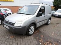 FORD TRANSIT CONNECT L 200 TD SWB 2004 SILVER