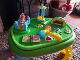 Iggle piggle babies and toddlers activity table