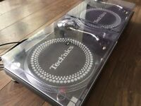 2 x Technics 1210 MK3 Turntable With Original Lids & Technics Needles *Accept PayPal & Post*