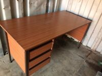 desk with drawers £35 free local delivey