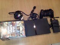 Sony Playstation 2 Slimline Mini & 6 games including Grand Theft Auto San Andreas, Final Fantasy X