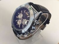 New Breitling Chronometre leather strap automatic watch