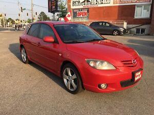 2005 Mazda MAZDA3 NO ACCIDENT - SAFETY & E-TESTED