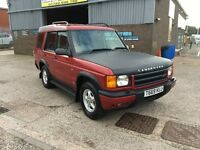 1999 T LAND ROVER DISCOVERY 2.5 TD5 GS.4X4 120000 MILES WITH SERVICE HISTORY,