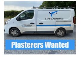 PLASTERED WANTED