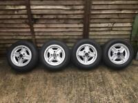 Genuine Ford Fiesta Supersport Alloys + Tyres + Genuine Nuts