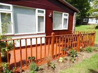 HOLIDAY CHALET IN BUDE CORNWALL DEVON SLEEPS 5 ALLOWS DOGS