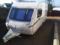 Abbey Vogue 460 2 Berth Touring Caravan 2008, One Owner, Immaculate Condition.