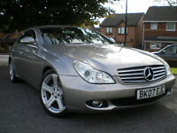 *** Mercedes-Benz CLS 3.0 CLS320 CDI 7G-Tronic 4dr ** TOP OF THE RANGE FULL L LEATHER ** BARGAIN ***