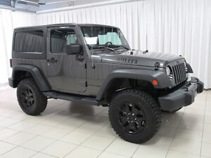 2018 Jeep Wrangler JK WILLY'S WHEELER 4X4 REMOVABLE HARD TOP