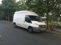 2008 Ford Transit Van – LONG WHEELBASE LWB HI TOP – DIESEL 1 YEAR MOT!