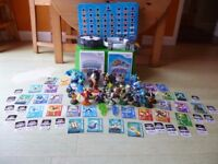 Wii.15 figures,2 trap masters,Spyro's adventure disc and portal,Trap Team disc and portal and more!