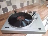 Retro semi automatic turntable, perfect condition.