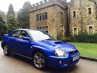 2004 (53) Subaru Impreza WRX 2.0 Sonic Blue,HPI Clear,CLEAN EXAMPLE,P1,STI,TYPER,22B,HAWKEYE,BUGEYE