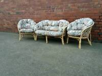 Cane conservatory set