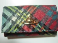 Brand New in box Vivienne Westwood key holder wallet