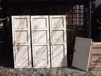 Pairs of cupboard doors