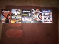 A Selection of Top Gear DVD's