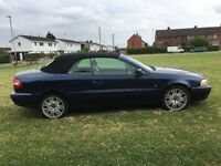 Volvo C70 2.3 T-5 GT rare manual convertible