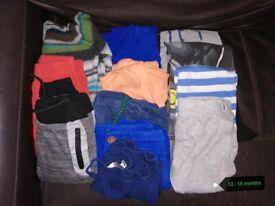 Boys 12 - 18 Months Clothes Bundle