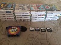 25 Nintendo DS games bundle + guitar hero controller FOR SWAP