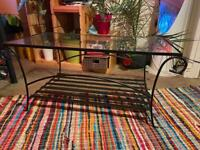 Cofee table plus small side table