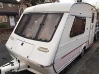 Fleetwood caravan 2000 and awning