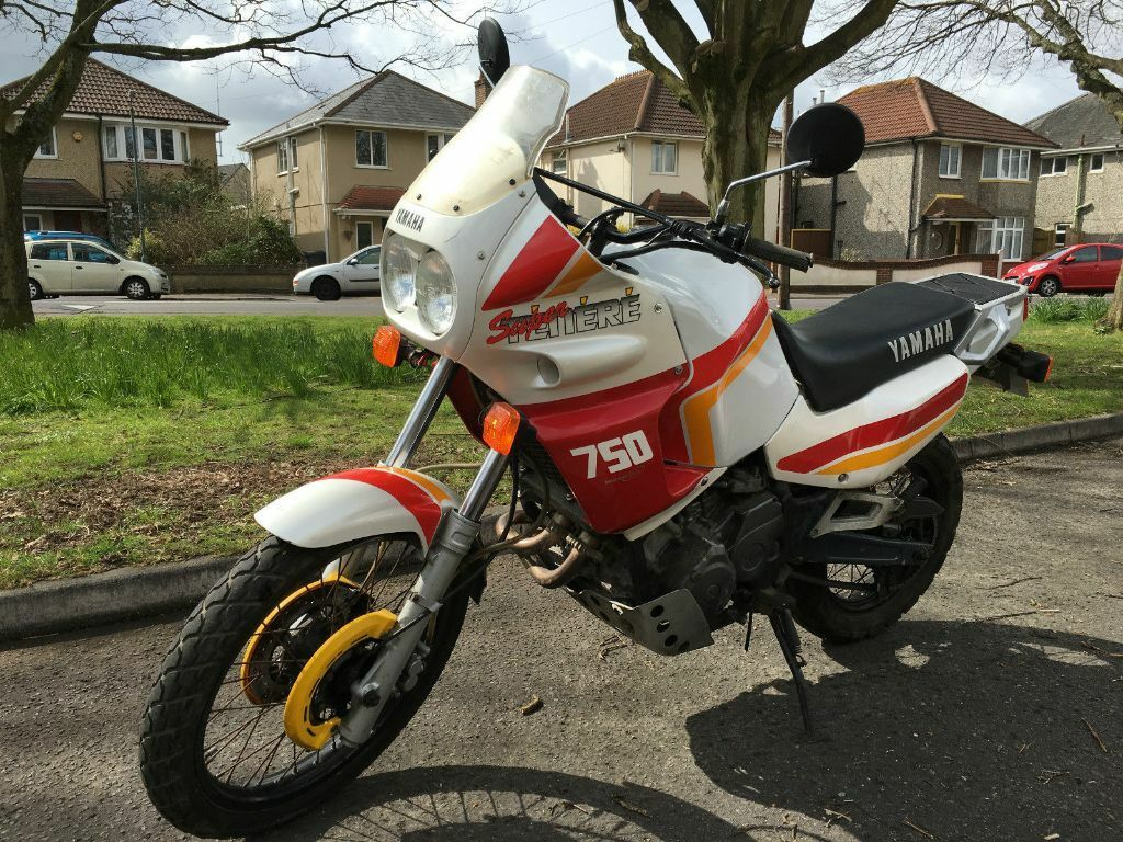 yamaha xtz 750 super tenere 1989 low mileage in bournemouth dorset gumtree. Black Bedroom Furniture Sets. Home Design Ideas