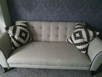 dfs large sofa grey