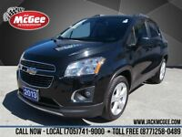 2013 Chevrolet Trax LTZ - AWD, Leather, SunRoof