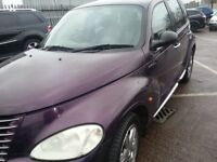 CHRYSLER PT CRUISER AUTOMATIC 55 REG LOW MILES 55K LEATHER LIMITED EDITION CHROME ALLOYS LEATHER